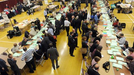 Counting the votes at Colchester who will take the most seats this year?