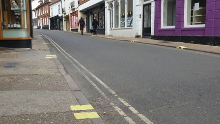 The lines have been described by some residents as 'hideous' Picture: ADAM HOWLETT