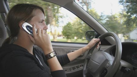 Suffolk Constabulary joins forces nationwide in a crackdown on drivers using mobile phones as part o