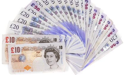 Fake bank notes were seized on a train at Colchester. Picture: THINKSTOCK