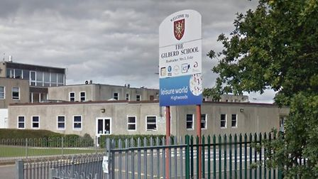 Mrs Chenery said The Gilberd is her catchment school Picture: GOOGLE MAPS