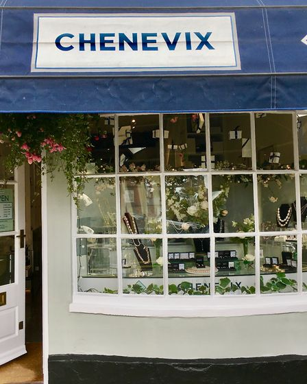 Shop owned by Susannah Chenevix-Trench FGA