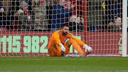 Bartosz Bialkowski has endured a difficult campaign following on from being in Poland's World Cup sq