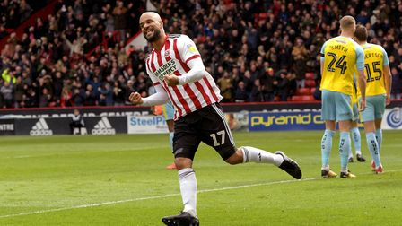 David McGoldrick has been fit and firing since joining Sheffield United on a free transfer. Photo: P