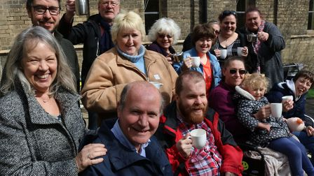 The chatter and natter coffee club was formed two years ago Picture: REALISE FUTURES
