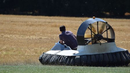 Ride on a hovercraft on a day out in Suffolk Picture: ANDREW MUTIMER/CITIZENSIDE.COM