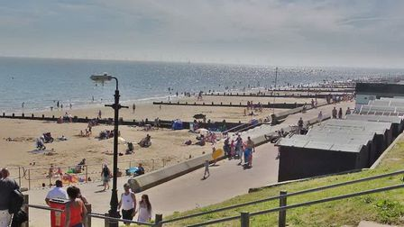 Frinton has a reputation for gentility - and its beach is very popular with tourists. Picture: PETER