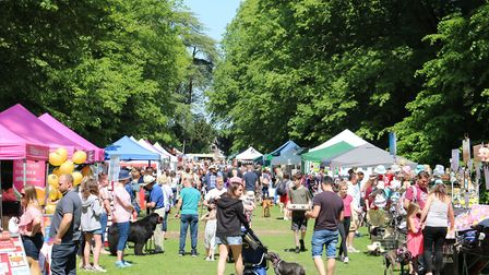 Paws in the Park is returning to Nowton Park in Bury St Edmunds Picture: ST NICHOLAS HOSPICE CARE