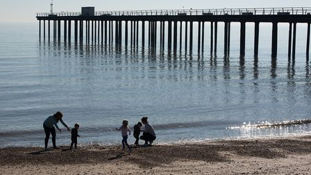 A four-day weekend with warm temperatures will bring thousands of pounds to Suffolk's tourist hotspo
