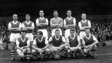Town would go on to win the Division One title at their fiest attempt in 1961/62. Picture: ARCHANT