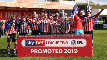 Ipswich Town will face Lincoln City next season. Danny Cowley's side secured League Two promotion ov