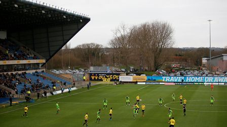 Ipswich Town have never played at Oxford United's Kassam Stadium. Photo: PA