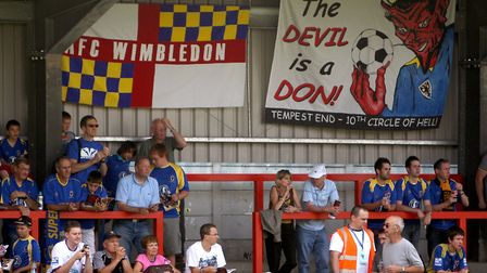 AFC Wimbledon would be a new ground for Ipswich Town to visit if the London club can stay up. Photo: