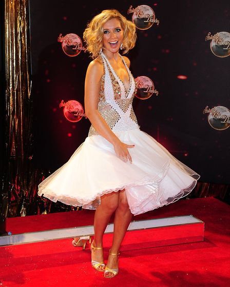 Rachel Riley - swept off her feet in Strictly Come Dancing 2013. Picture: Ian West/PA Wire