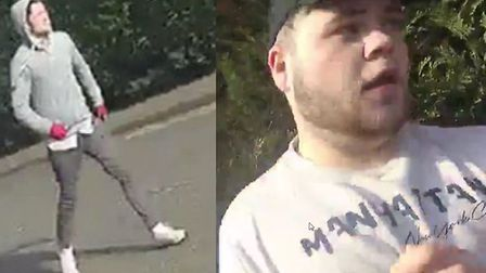 Do you recognise these men? Essex Police would like to speak with them regarding a burglary in St Gi