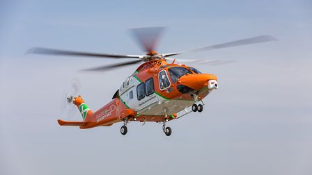 The new Magpas AW169 air ambulance helicopter will serve across East Anglia. Picture: ROB HOLDING