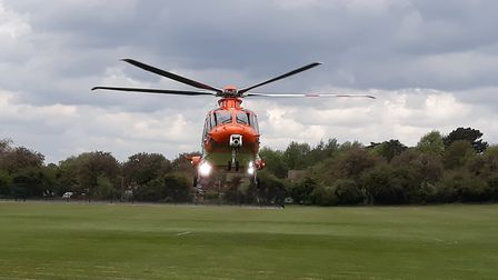 The helicopter replaces the previous MD902 Explorer aircraft. Picture: MAGPAS