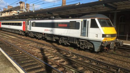Current Intercity trains will be phased out once the new trains enter service later this year. Stock