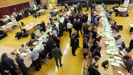 Election counts will take place overnight and tomorrow. Picture: PHIL MORLEY