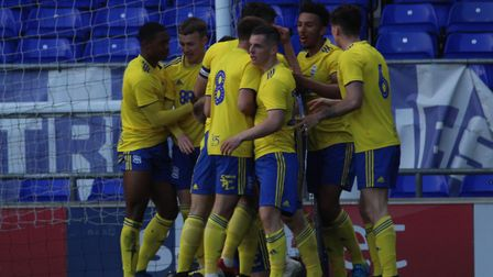 Birmingham City won the game 3-0 and will now play Leeds United in the final. Picture: ROSS HALLS