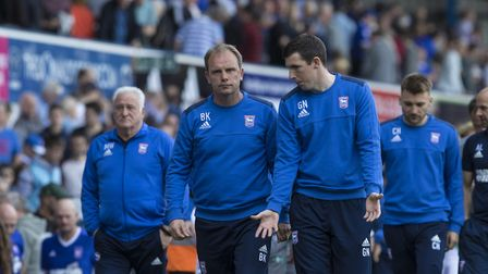 Nash, Bryan Klug and Chris Hogg took charge of the first-team following Mick McCarthy's departure la