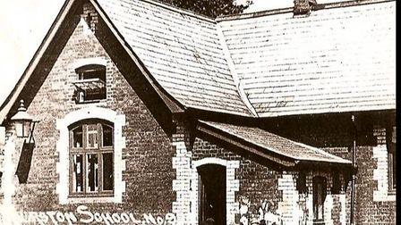 The old Thurston Primary school building.