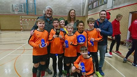 The Orange Legends from Bealings School will play their cup final game at St George's Park. Picture: