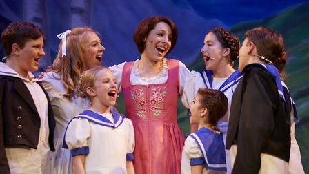 The Sound of Music continues to win new audiences at the Theatre Royal Bury St Edmunds Photo: Joe Ta