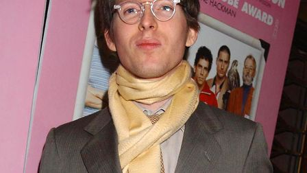 Wes Anderson attends the premiere of his film The Royal Tenenbaums