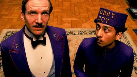 Ralph Fiennes as Gustave and Tony Revolori as Zero in the Grand Budapest Hotel Photo: 20th Century F