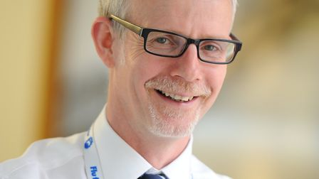 Chief executive Dr Stephen Dunn Picture: West Suffolk NHS Foundation Trust