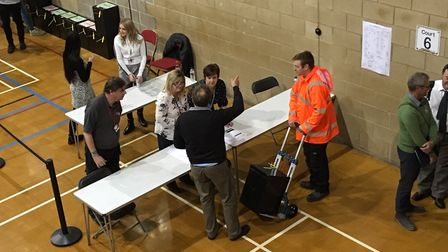 The first box arrives for the Tendring count Picture: TENDRING DISTRICT COUNCIL