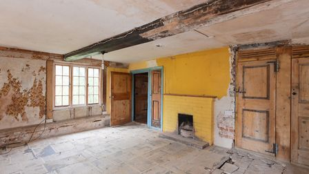286 Kittles Corner, Cretingham is a pretty country cottage, now in need of renovation. Picture: RUF