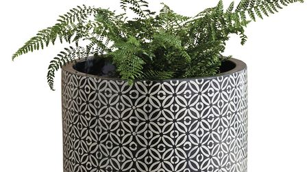 Geometric Plant Stand, �60, Next. Picture: Next/PA.