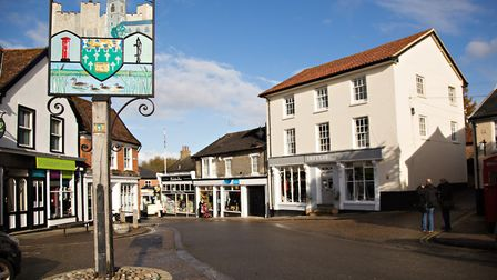 Framlingham is set to get free public wifi as part of the Digital Town Project. Photo: Ruth Leach.
