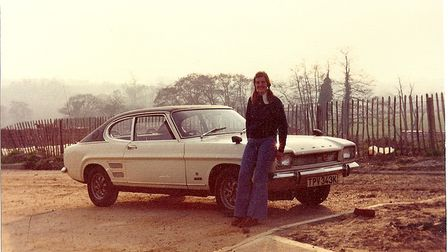 Mark used to own a Capri like this one, sent in by reader Janice Poulson