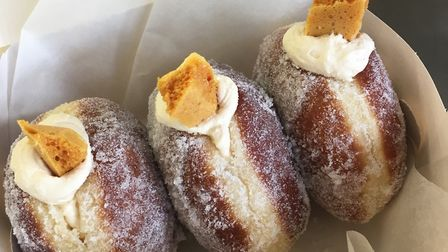 Two Magpies Bakery is offering doughnut making classes at its new location in Darsham Picture: Two