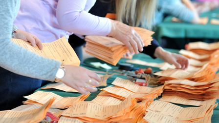 West Suffolk council election papers will be counted today