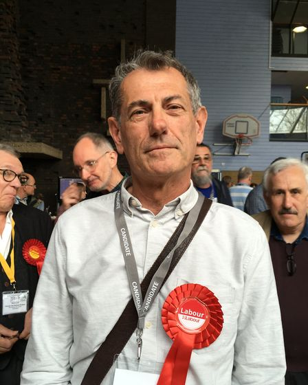 Eastgate Labour candidate Cliff Waterman said his win proved a good Labour campaign focused on issue