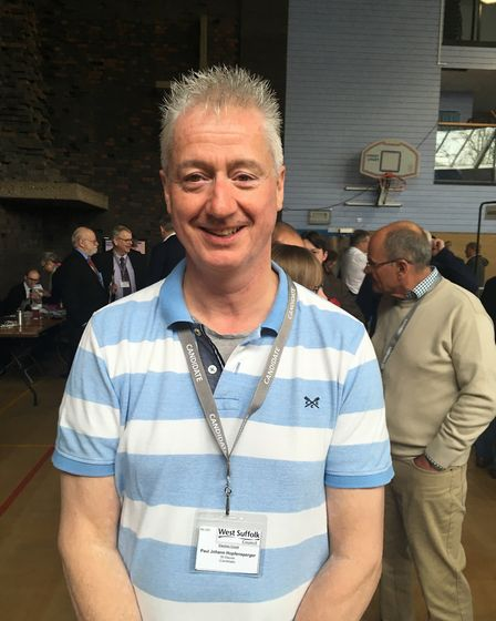 Independent Paul Hopfensperger will continue to represent people on the St Olaves ward in Bury St Ed