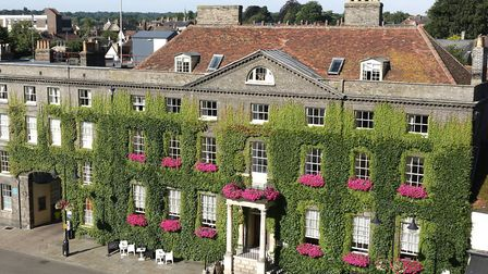 The ground floor refurbishment of The Angel Hotel in Bury St Edmunds has been completed Picture: THE
