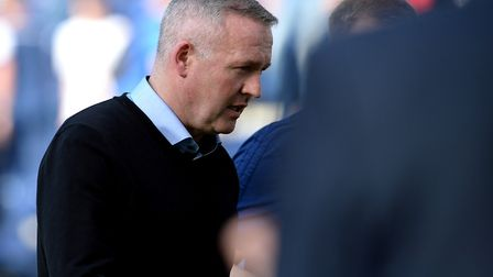 Paul Lambert leaves the pitch at Deepdale at Preston. Picture Pagepix