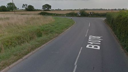 An area of the B1078. Picture: GOOGLE
