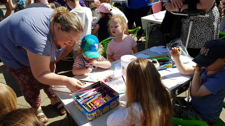 There were craft classes at Everything Easter in Felixstowe. Picture: RACHEL EDGE