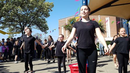 Dance perfomances at Everything Easter in Felixstowe. Picture: RACHEL EDGE