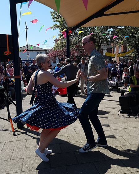 There were dancers at Everything Easter in Felixstowe. Picture: RACHEL EDGE