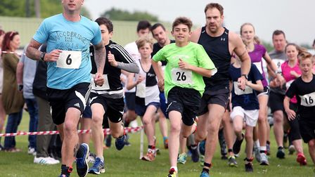 The Fram Gala team duathlon will be a fun challenge for all abilities and ages Picture: Dean Warner