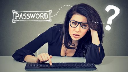 It can be trying when you forget your password... Picture: Getty Images/iStockphoto