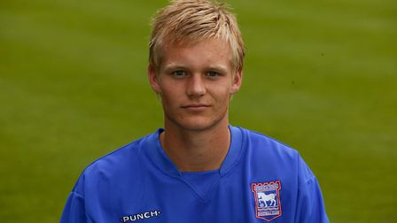 Manning is a former Ipswich Town academy youngster. Picture: ITFC