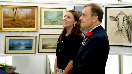 Suffolk Show visitors can enjoy a range of local artwork at the Art Show Picture: SUFFOLK AGRICULTU